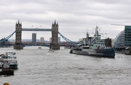 Tower Bridge- HMS Belfast, London 03-14